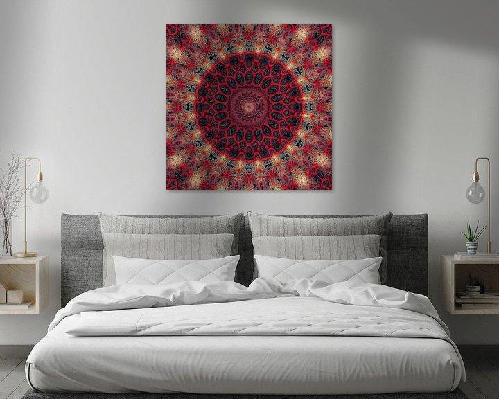Sfeerimpressie: Mandala tender touch van Marion Tenbergen