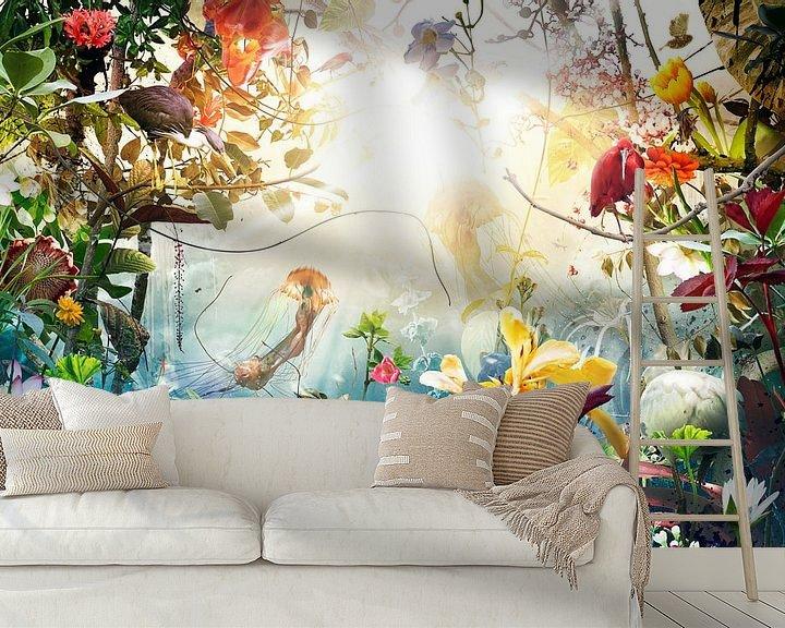 Sfeerimpressie behang: Marine Dream (3:2 ratio) van Jesper Krijgsman