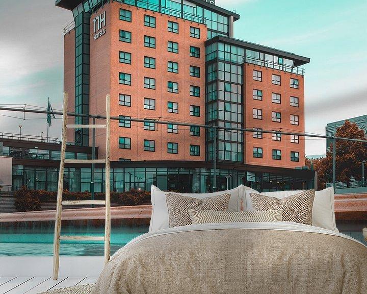 Sfeerimpressie behang: NH Hotel Zoetermeer van Chris Koekenberg