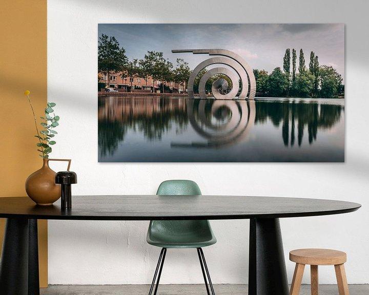 Sfeerimpressie: Spiraal van Chris Koekenberg