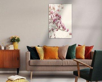 Magnolia boom van Marina de Wit