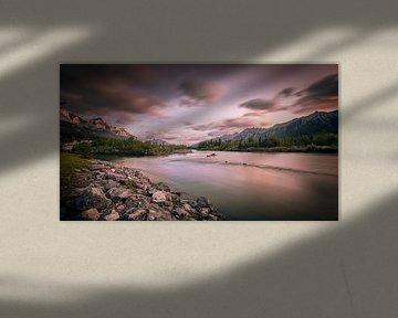 Canada - Rocky Mountains van Kees van Dongen