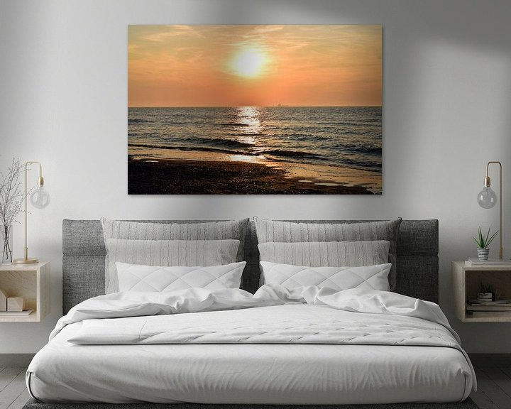 Sfeerimpressie: Zonsondergang aan de kunst van Aafke's fotografie