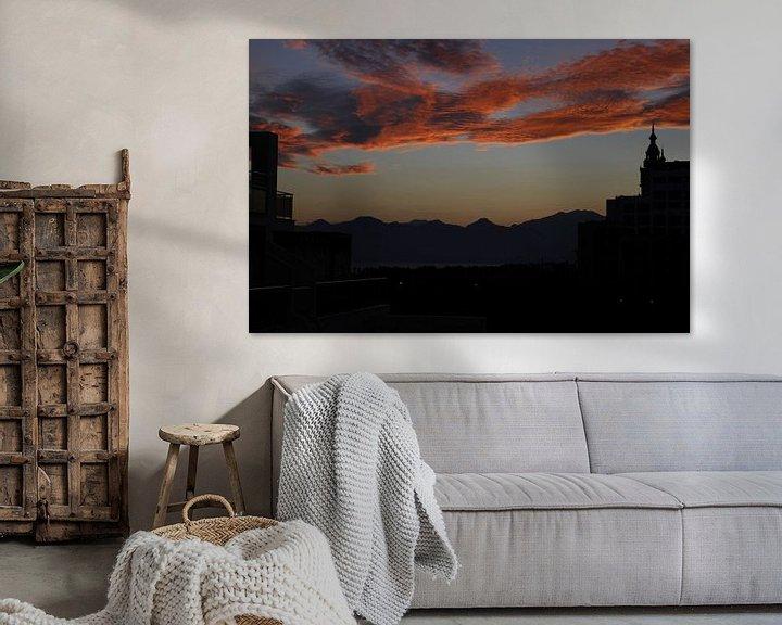 Sfeerimpressie: zonsondergang van Danielle Holkamp