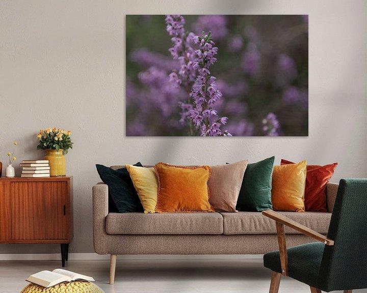Beispiel: Blühendes Heidekraut von Ingrid Aanen