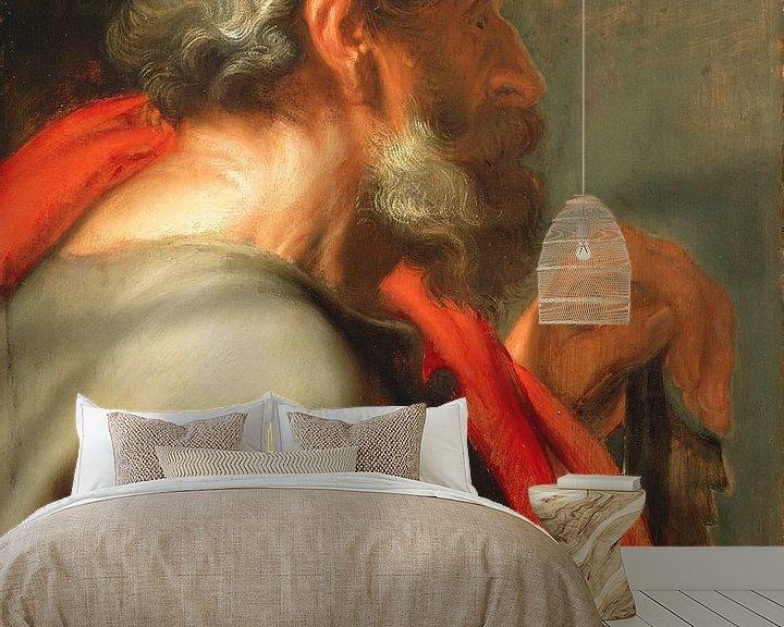 Beispiel fototapete: Der Apostel Simon, Anthony van Dyck.