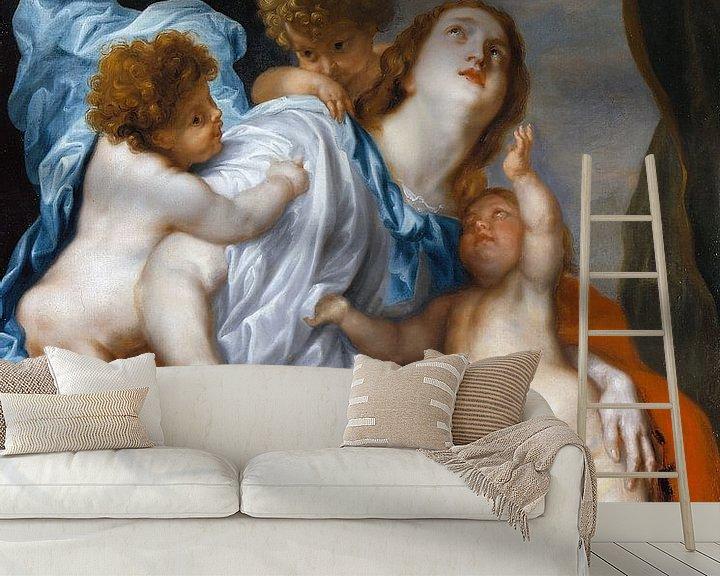 Beispiel fototapete: Wohltätigkeitsorganisation, Anthony van Dyck