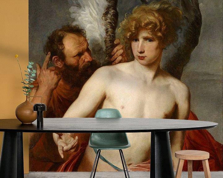 Beispiel fototapete: Daedalus und Ikarus, Anthony van Dyck