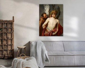 Daedalus und Ikarus, Anthony van Dyck