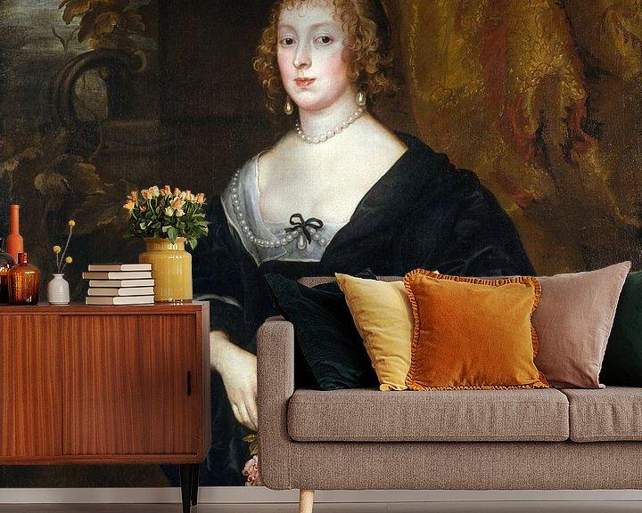 Beispiel fototapete: Lady Dacre, Anthony van Dyck.