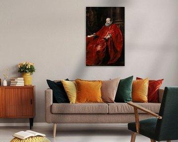 Porträt von Agostino Pallavicini, Anthony van Dyck