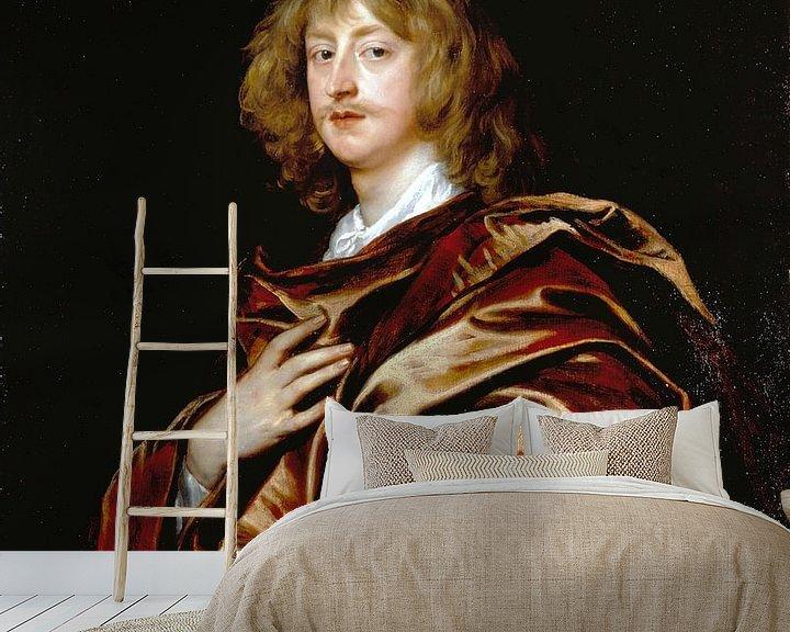 Beispiel fototapete: George Digby, 2. Graf von Bristol, Anthony van Dyck.