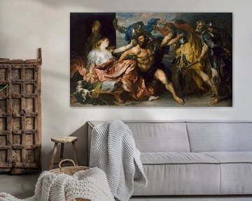 Samson und Delilah, Anthony van Dyck.