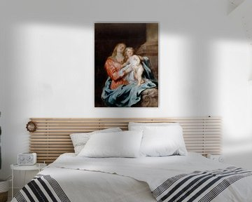 Die Madonna mit Kind, Anthony van Dyck