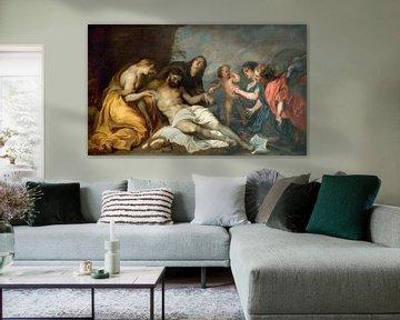 Klage über den Toten Christus, Anthony van Dyck