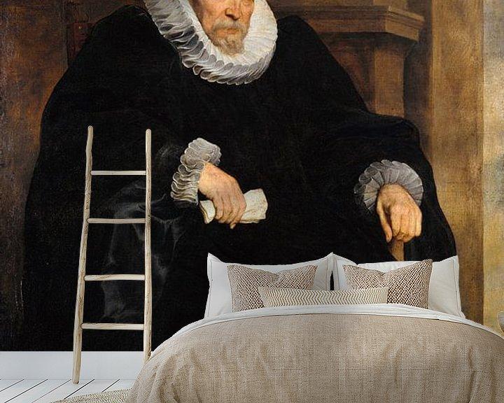 Beispiel fototapete: Porträt eines genovesischen Gentleman, Anthony van Dyck