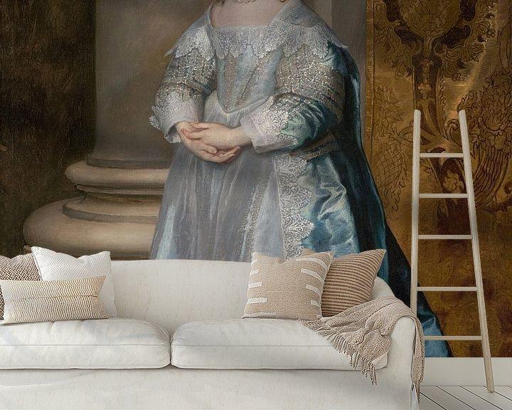 Beispiel fototapete: Prinzessin Mary, Tochter von Karl I., Anthony van Dyck