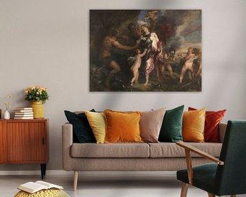 Thetis erhält eine Rüstung für Achilles von Hephaestus, Anthony van Dyck.