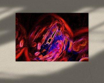 Rode gloed van Jolanta Mayerberg