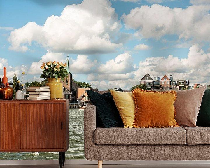 Sfeerimpressie behang: IJssel Zuid Holland van Brian Morgan