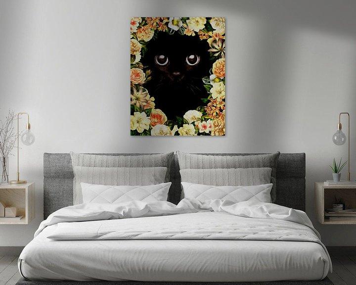 Sfeerimpressie: Flower Power Kitten van Jan Keteleer
