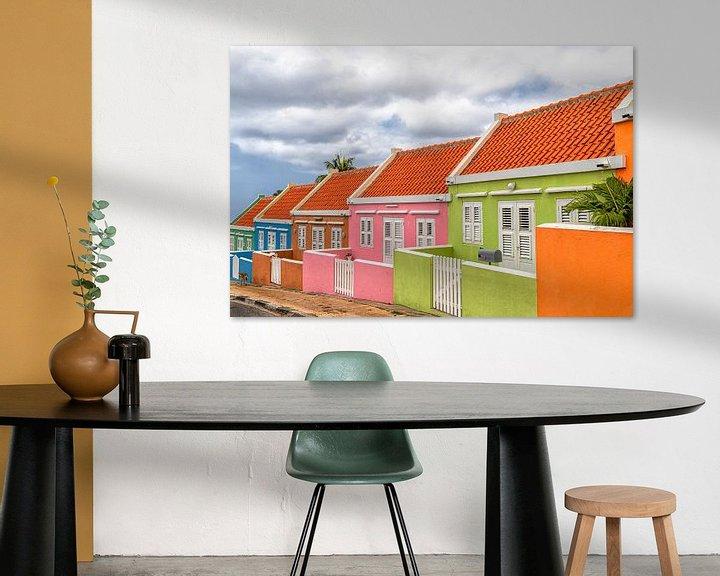 Sfeerimpressie: Echt kleurrijk Curacao - Willemstad van Marly De Kok
