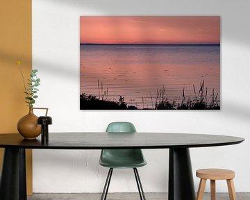 Sfeervolle zonsondergang van René Wolters