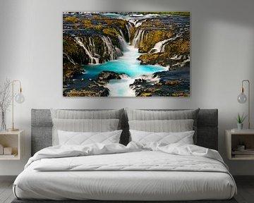 Bruarfoss Waterval te IJsland