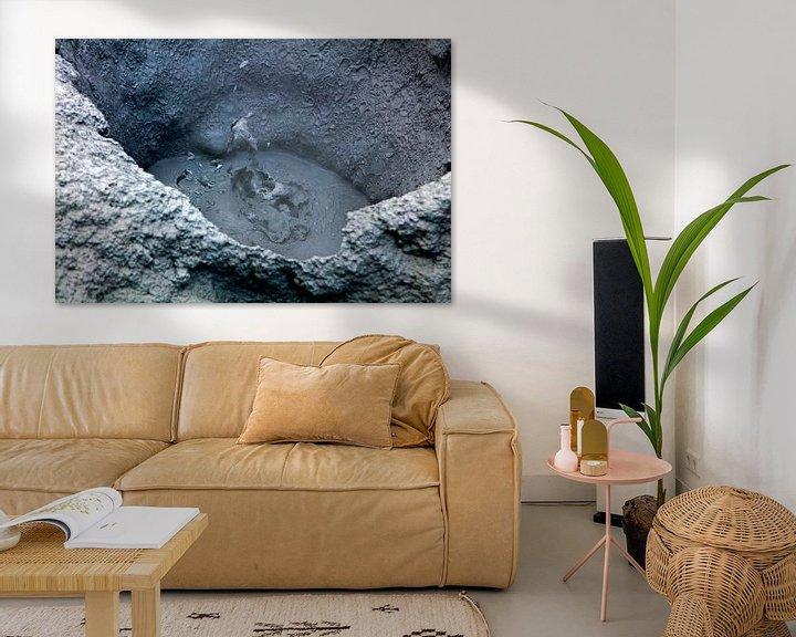 Sfeerimpressie: Hverir kokende modderpot 1 van Anton de Zeeuw