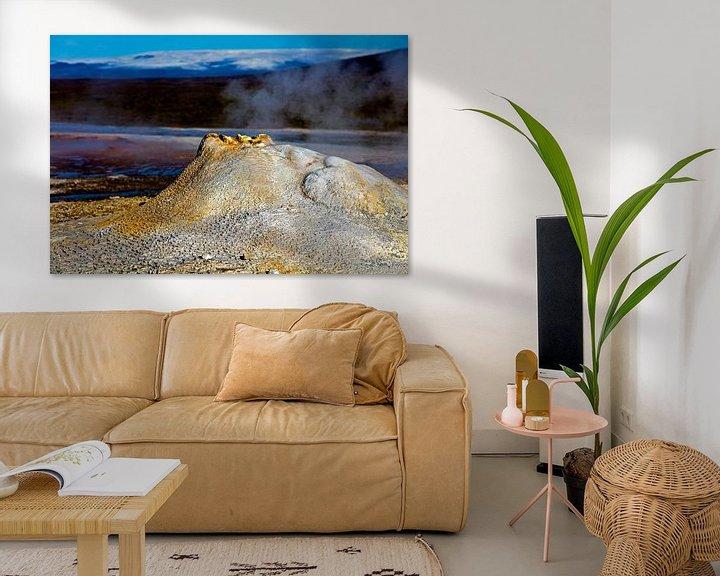 Sfeerimpressie: Hveravellir te IJsland van Anton de Zeeuw