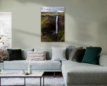 Háifoss sur Islande 1