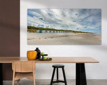 Strandhuisjes Paal 28 Zuid van Ronald Timmer