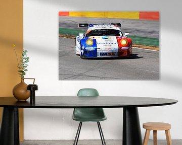 Porsche GT Spa Francorchamps Circuit von MSP Canvas