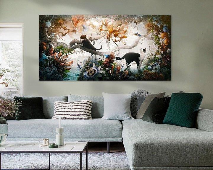 Sfeerimpressie: Electric Jungle van Jesper Krijgsman