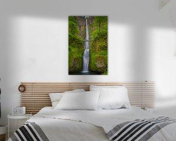 Multnomah Falls, Oregon, United States. van Henk Meijer Photography