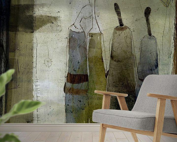 Beispiel fototapete: Vier Frauen von annemiek groenhout