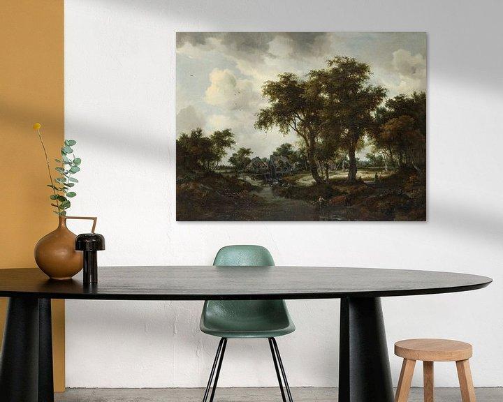 Beispiel: Die Wassermühle (Die Trevor-Landschaft), Meindert Hobbema