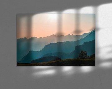 Zonsondergang van Isa V