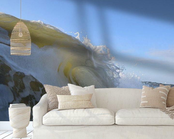 Beispiel fototapete: Nordseegolf. von Erwin de Visser