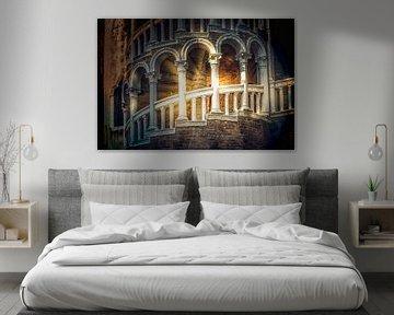 Palazzo la nuit sur Sabine Wagner
