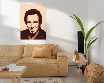 Bruce Springsteen - The Rising portret van Jarod Art