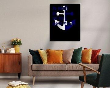 """Ancre de la mer du Nord """"Home&quot ; est l'endroit où l'ancre tombe& sur PA Designs"""
