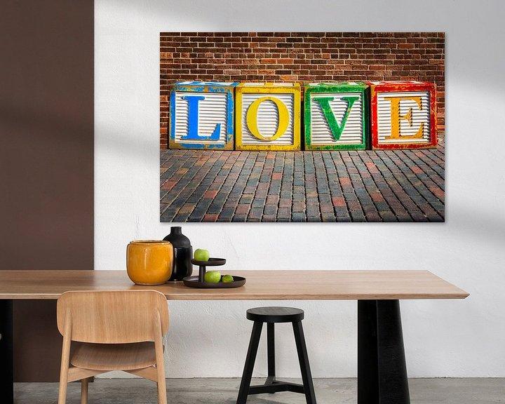 Sfeerimpressie: Liefde Kubussen van Jan van Dasler