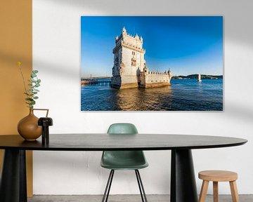 Torre de Belém in Lissabon van Werner Dieterich