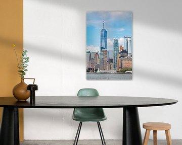 Centre-ville de Manhattan sur Vincent van den Hurk