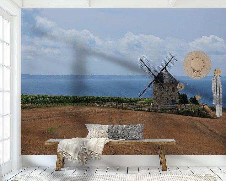 Beispiel fototapete: Windmühle von Erik Reijnders