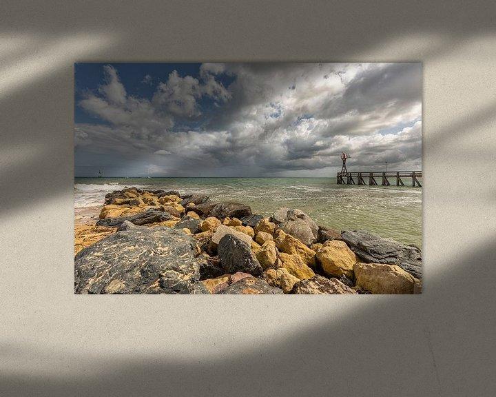 Sfeerimpressie: Ouistreham Frankrijk Normandy van Rob van der Teen