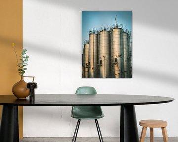 Industriegebäude von Martijn Tilroe
