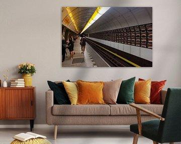 Metrostation in Prag von RM Photographics