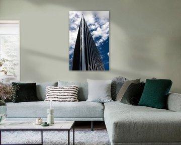 Immeuble de bureaux en architecture moderne sur RM Photographics